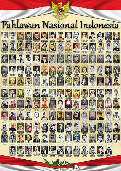 Inilah Daftar Pahlawan Nasional Indonesia