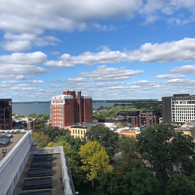 View of Madison from the rotunda!