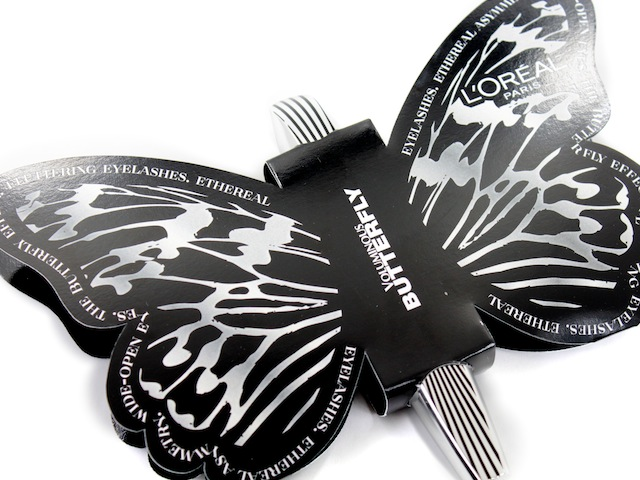 e8e96c7cb5d There's a new L'Oréal Voluminous mascara in town and her name is Butterfly*.