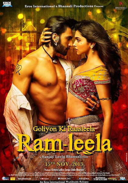 Poster of Goliyon Ki Rasleela Ram Leela 2013 720p Hindi BRRip Full Movie Download