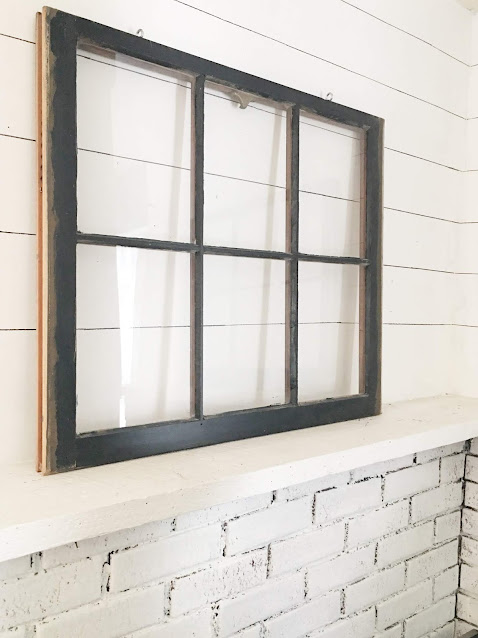 simple faux shiplap