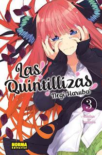 Reseña de Las Quintillizas (Go-Toubun no Hanayome), de Negi Haruba - Norma Editorial.