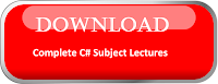 C# Programming Language Download Lectures