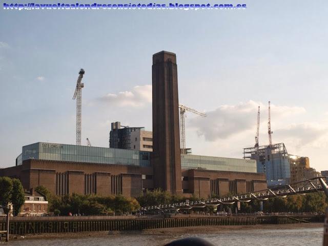 Edificio de la galería Tate Modern de Londres