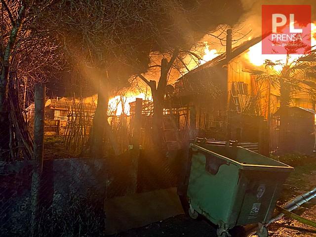 Fatal incendio en San Pablo