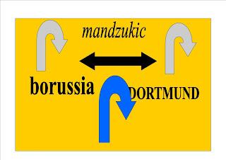 mandzukic est sur le point se rejoindre borussia DORTMUND