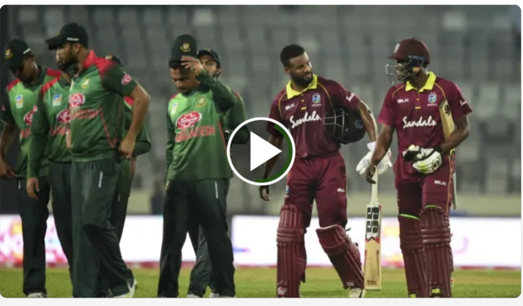 Cricket Highlights - West Indies vs Bangladesh 2nd ODI 2018 - Shai Hope 146
