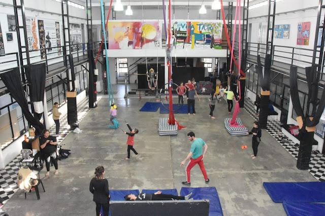 Intercambio circense: Circo Social Pehuajó y Circo Roland Argentina