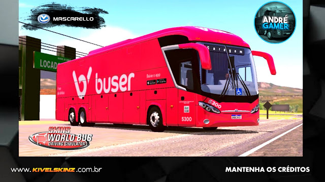 MASCARELLO ROMA R8 - VIAÇÃO BUSER
