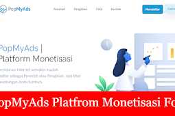 Popmyads monetisasi for blog