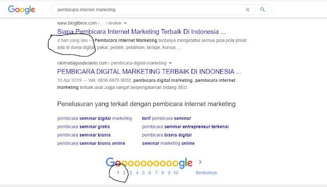 siapa pembicara internet marketing