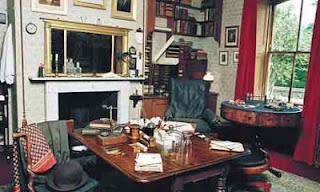 ruang kerja Darwin ketika menulis the Origin of Species