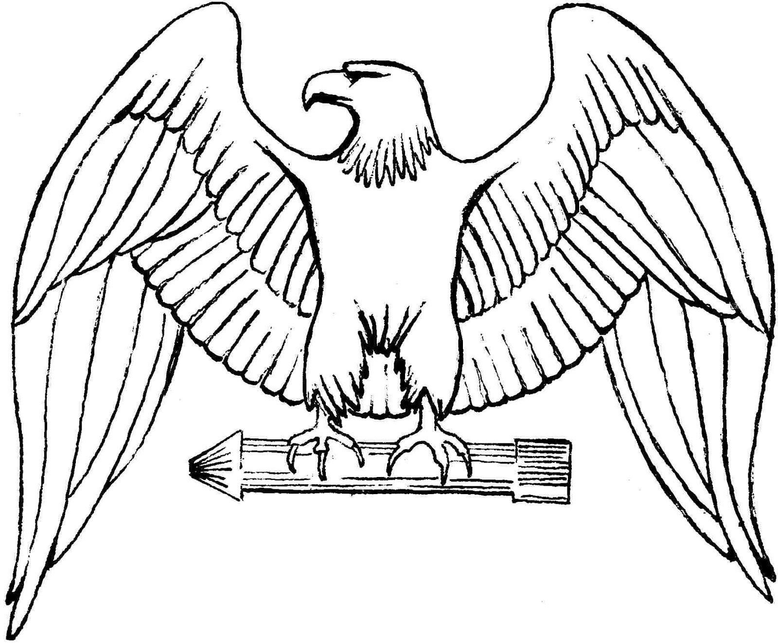 Mewarnai Gambar Mewarnai Gambar Sketsa Garuda Pancasila