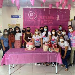 Vereadora Nildinha Teles prestigia ação do 'Outubro Rosa', em Chapadinha