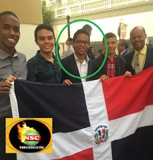 Joven Carlos B.Ogando Montás gana premio en olimpìadas Iberoamericanas de Fìsicas  en Mayaguez ,Puerto Rico