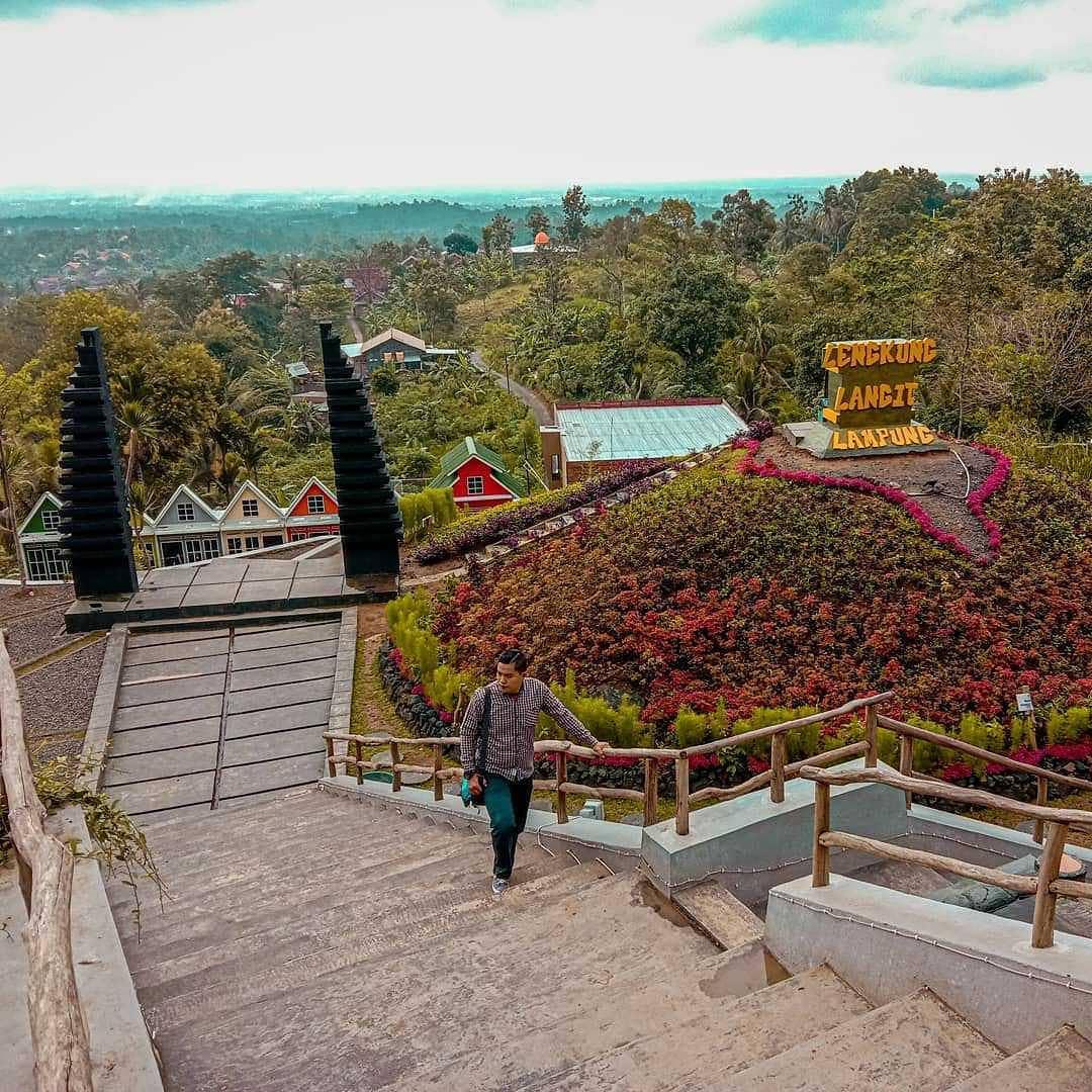 Tempat Wisata Lengkung Langit Kemiling Kota Bandar Lampung