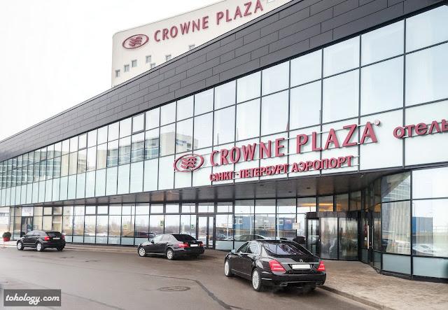 Площадка Форума – отель Crowne Plaza St.Petersburg Airport