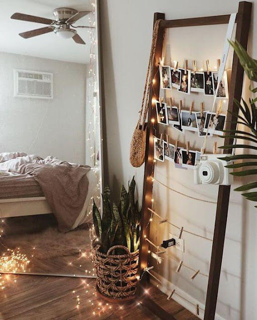 varal-fotos-decor-quarto