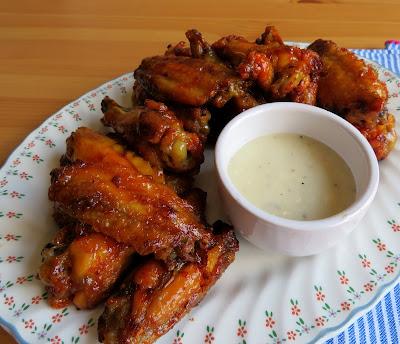 Crispy Baked Hot Wings