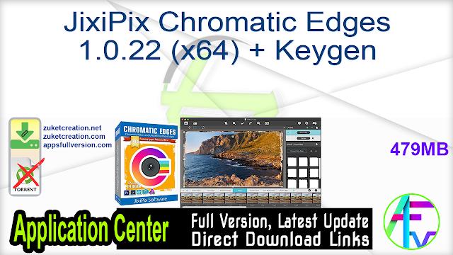 JixiPix Chromatic Edges 1.0.22 (x64) + Keygen