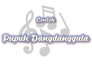 Kumpulan Contoh Lirik Lagu Pupuh Dangdanggula