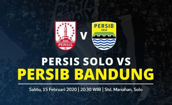 Link Streaming Persib Bandung VS Persis Solo