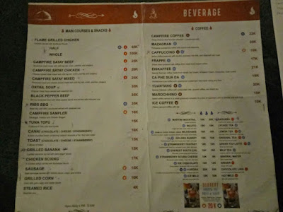menu campfire, campfire batu, menu campfire batu, harga menu campfire
