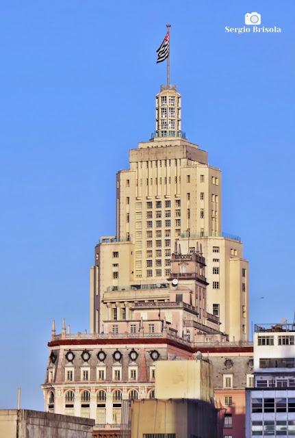 Vista das coberturas dos Edifícios Martinelli e Altino Arantes - Centro - São Paulo