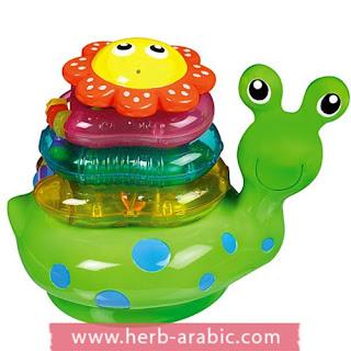 لعبة حلزون للمواليد والاطفال