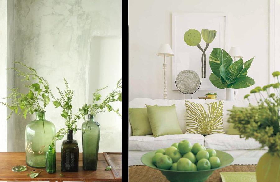 la fabrique d co une d co en couleurs du vert dans la. Black Bedroom Furniture Sets. Home Design Ideas