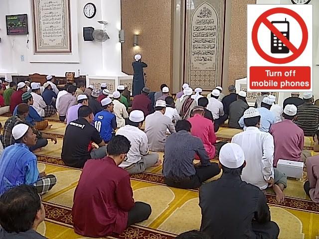 telefon-bimbit-masjid