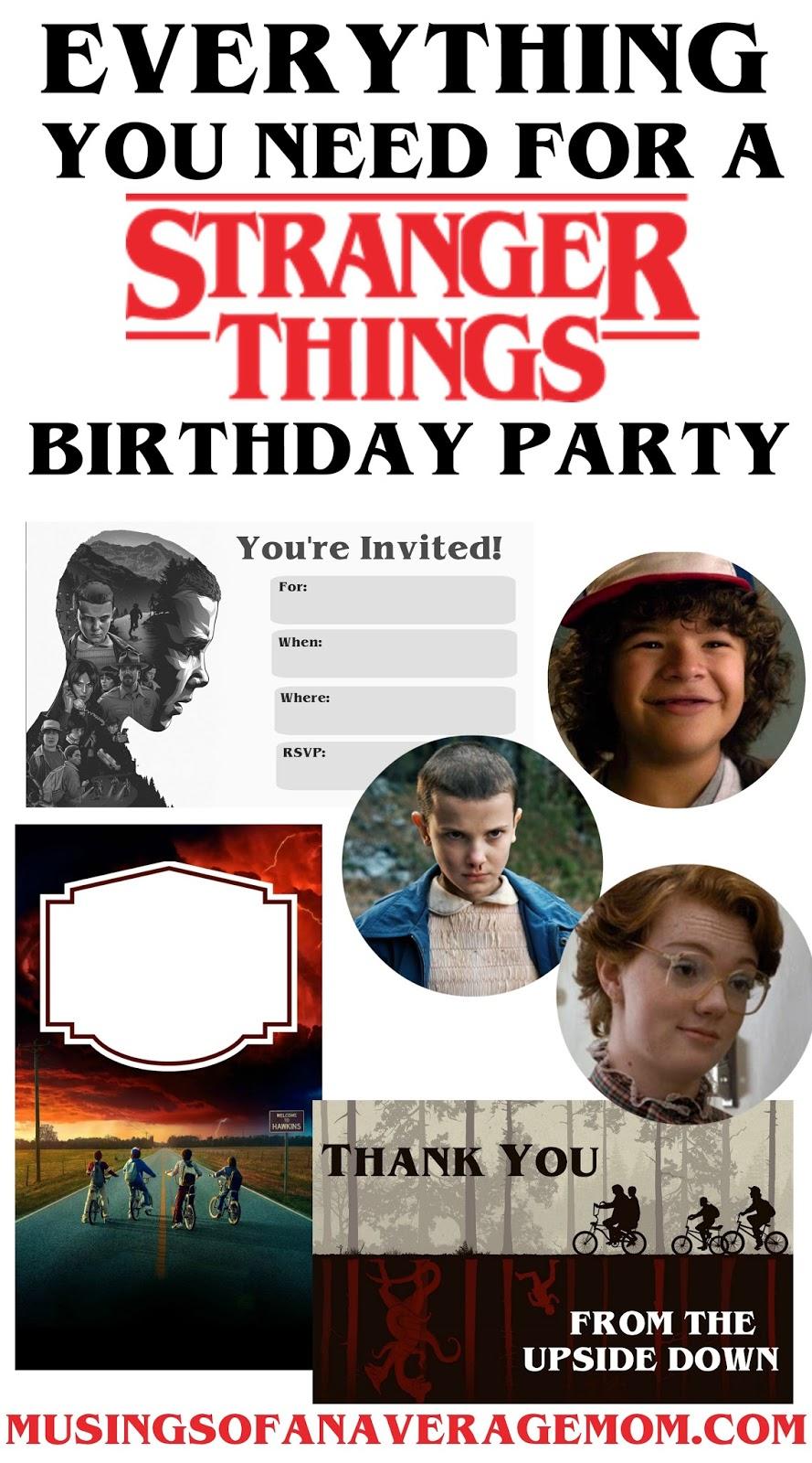 Stranger Things Bday Party Ideas Kara S Party Ideas
