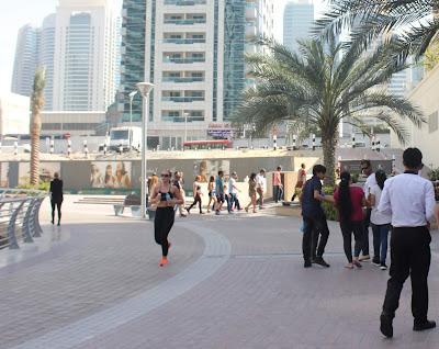 منظر من منطقة دبي مارينا