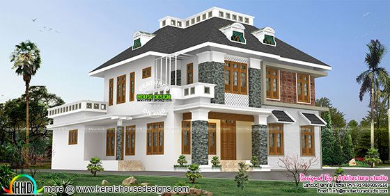 Modern mix decorative Colonial home