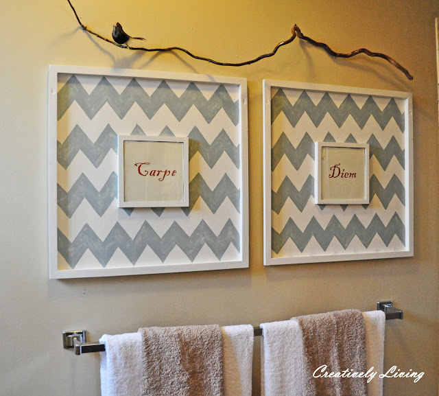 Master Bath Wall Art - Creatively Living Blog