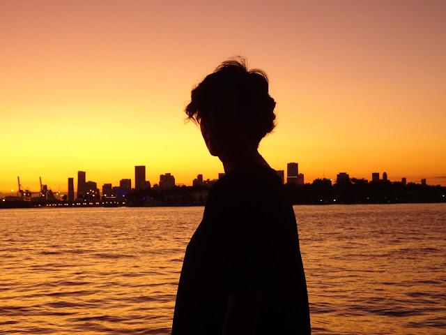 La Donna en la puesta de sol