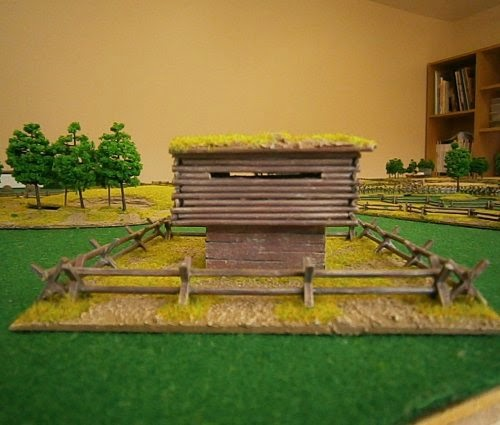 Making American Civil War Blockhouse