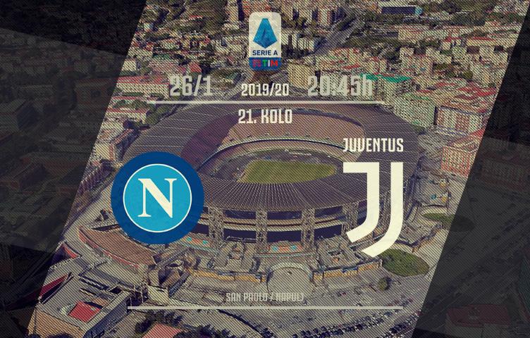 Serie A 2019/20 / 21. kolo / Napoli - Juventus, nedelja, 20:45h