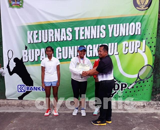 Kejurnas Tenis Yunior Bupati Gunungkidul Cup 2018: Petenis Tuan Rumah Sabet 3 Gelar Juara