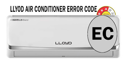 Llyod air conditioner error code, Llyod ac error EC