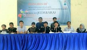 Mahasiswa Bandung Barat Gelar Kongres Ke-III
