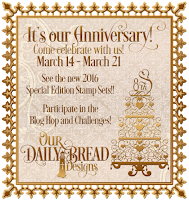Our Daily Bread designs 8th Anniversary Celebration