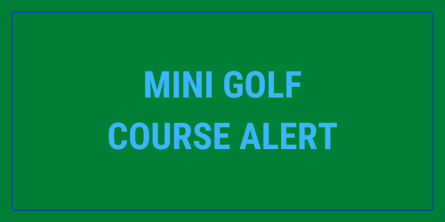 The new Spinners Mini Golf course in Reading, Berkshire opens on Tuesday 29th June 2021