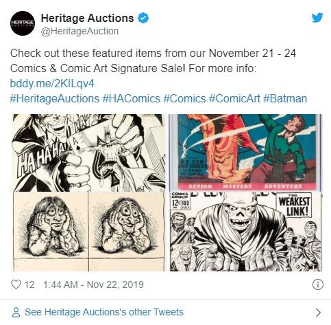 Buku Vintage Marvel Comics Dijual Dengan Harga $ 1,26 Juta di Lelang