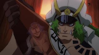ワンピースアニメ 989話 | 百獣海賊団 飛び六胞 ササキ SASAKI  | ONE PIECE Beasts Pirates Tobiroppo