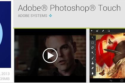 Kisah aplikasi Adobe Photoshop Android