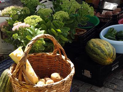 legumes na Feira de Espinho