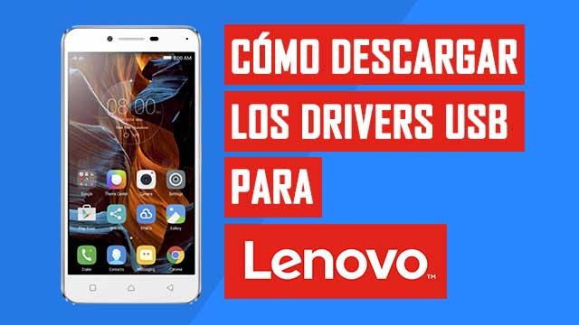 Controladores USB Tablet y celular Lenovo