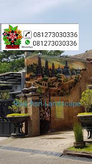 tukang dekorasi kolam tebing Jakarta tukang relief tebing -air terjun