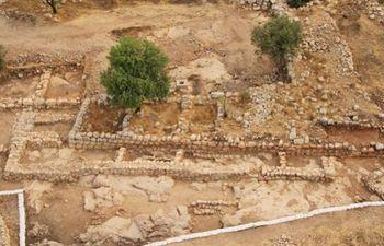 Ruinas de lo que fue el palacio del rey David